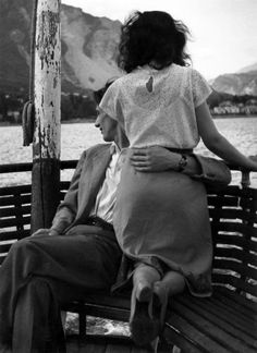 Gotthard Schuh :: Sunday Afternoon, Lake Maggiore, Italy, 1961
