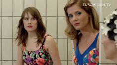 """Eurovision Iceland 2010 with Hera Bjork singing """"Je ne said quoi"""". Hilarious self-parody video."""