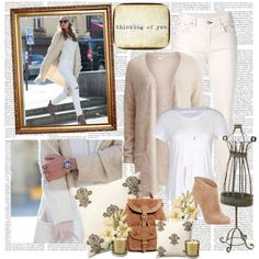 """White in Paris - The fashion fruit"" by sarapires on Polyvore"