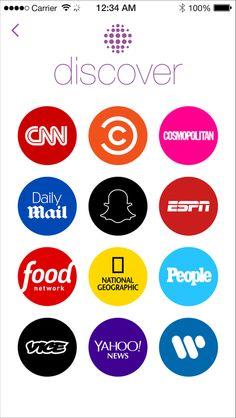 Obtenga Top News en un Snap: Descubre Yahoo en Snapchat con nuestro Global News Katie Couric