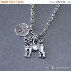 "-""Dog charm necklace"" - BD Luxe Dogs & Supplies - 1"