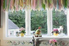 s 13 incredibly useful tension rod ideas you haven t seen yet, crafts, organizing, repurposing upcycling, Add charming decoration to a large window Upcycled Crafts, Diy Crafts, Faux Brick Backsplash, Kitchen Window Valances, Window Blinds, Brick Paneling, Kitchen Paint, Kitchen Design, Kitchen Tips