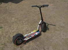 This is my finished project of kickscooter. Balance Bike, Bobber Motorcycle, Dune, Aldo, Skate, Boards, Bicycle, Vehicles, Homemade Go Kart