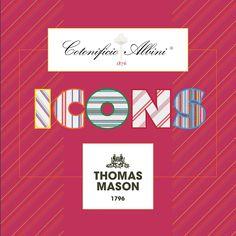 ICONS  Marco Mirelli & Thomas Mason Collection  Finest Fabrics  Tie najkvalitnejšie látky z kolekcie ICONS Fabric, Tejido, Tela, Cloths, Fabrics, Tejidos