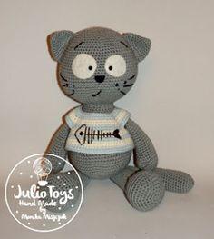 Cat Matt - Julio Toys | Crochet patterns | Amigurumi