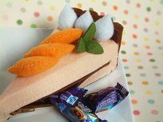 Ive been planning a new coin purse,include strawberry and orange cake,during some idea searching Ive come across this cheesecake purse, hope you enjoy
