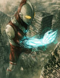 Ultraman by Otakusanramen