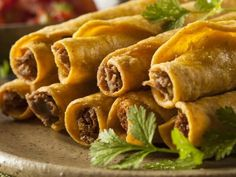 Baked Ground Beef Taquitos Recipe on Yummly. @yummly #recipe Ground Beef Taquitos Recipe, Baked Taquitos, Beef Taquito Recipe, Ground Beef Recipe Kids, Sandwich Tacos, Sandwiches, Fajitas, Corn Tortilla Recipes, White Corn Tortillas Recipe