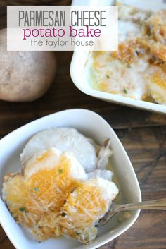Blog post at The Taylor House : Who loves potatoes?  Or maybe I should say - who loves cheesy potatoes?  YUM!  You cannot go wrong with this gooey and delicious Parmesan[..]