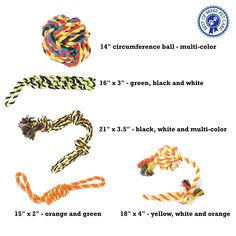 Dog Rope Toys for Large and Extra Large Dogs 5 Heavy Duty Chew Toys for Aggressive Chewers Ideal for Teething and Interactive Play 6 Pack Including Sling Sack Bag Multicolor -- Be sure to check out this awesome product. (This is an affiliate link) Sack Bag, Teething, Ropes, Large Dogs, Dog Toys, Image Link, Play, Awesome, Check