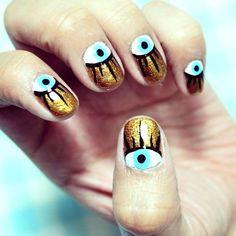eye nail art