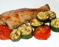 Чкмерули - рецепт с фото Zucchini, Vegetables, Food, Essen, Vegetable Recipes, Meals, Yemek, Veggies, Eten