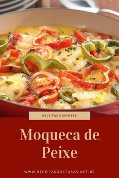 Simple and Delicious Easy Fish Moqueca Recipe - Animals World Moqueca Recipe, Brazillian Food, Brazilian Dishes, Cod Fish, Coco, Portuguese Recipes, Best Dishes, Pasta Salad, Carne