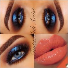 This inspires me to try a blue eye!