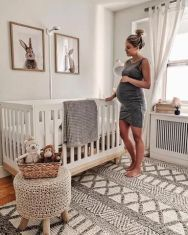 Favorite project to date ! 👶🏻 Baby K's gender neutral nursery is current . Favorite project to date ! 👶🏻 Baby K's gender neutral nursery is current … – # Baby Room Boy, Baby Room Decor, Boy Nursey, Twin Baby Rooms, Baby Nursery Themes, Baby Boy Nurseries, Neutral Nurseries, Bunny Nursery, White Nursery
