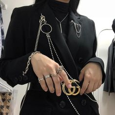Find images and videos about black, asian and ulzzang on We Heart It - the app to get lost in what you love. Pretty Hands, Beautiful Hands, Dress Outfits, Cool Outfits, Dresses, Badass Outfit, Closet Tour, Rocker Girl, Dark Fashion