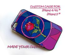 Beauty and Beas Rose Custom, iPhone 4 Case, iPhone 4s Case, iPhone 5 Case, Samsung Galaxy S3 i9300, Samsung Galaxy S4 i9500