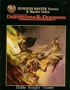 Dungeon Masters Guides 158710: Tsr Adandd 2Nd Ed Dungeon Master Screen And Master Index Zip Sw -> BUY IT NOW ONLY: $99.95 on eBay!