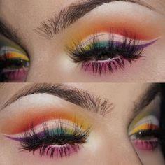 Never be scared to be yourself! Eyeliner made using eyeshadow and aqua seal. Makeup Is Life, Makeup Goals, Love Makeup, Makeup Inspo, Makeup Art, Makeup Inspiration, Beauty Makeup, Media Makeup, Makeup Ideas