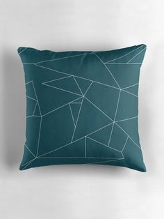 Teal cushions, Teal home decor, Striped cushions, geometric cushion, Teal throw pillows, Teal bedroom decor, Blue pillows, Blue home decor by ShadowbrightLamps on Etsy https://www.etsy.com/uk/listing/586065072/teal-cushions-teal-home-decor-striped