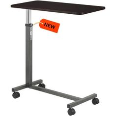 Overbed Rolling Table Drive Medical Over Bed Laptop Tray Adjustable Hospital New #DriveMedical#OverBedTable#LaptopDesk