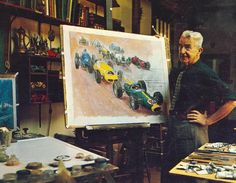 Vanderbilt Cup Races - Blog - A Tribute to Peter Helck (1893-1988), the Great American Artist