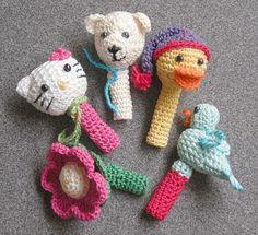 Passarinho, Pato Small Things of Crochet Crochet Baby Toys, Crochet Gifts, Crochet Animals, Baby Knitting, Crochet Things, Knitted Dolls, Knitted Bags, Crochet Dolls, Knit Crochet
