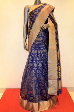 Blue Party Wear Pure Kota Silk Saree Brand: Janardhan silks Product Code: AB207960 Online Shopping: http://www.janardhanasilk.com/index.php?route=product/product&search=AB207960&description=true&product_id=3601