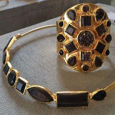 Vackra nyheter i smyckesdesignern Charlotte Bondes monter på Köpenhamns modevecka.#thejewelleryroom @copenhagenfashionweek #charlottebonde #blackstones