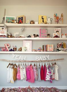 Love this modern baby room. Lots of fun ideas in the whole tour