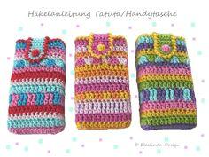 """Bring Farbe(n) in dein Leben! Häkel dir und deinen Liebsten eine kunterbunte Taschentücher-Tasche! Alle Welt redet von """"Tatüta"""" - gemeint ist d..."""