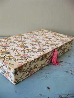 vintage stationary box, etsy