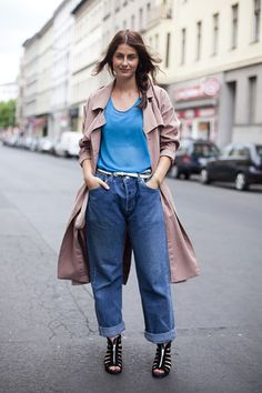 #coollookoftheday Boyfriend jeans will never go out of style, plus what could be more comfortable? Click through to get yours!
