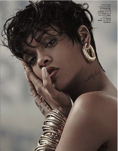 Stylish Starlets: Rihanna for Vogue Brazil