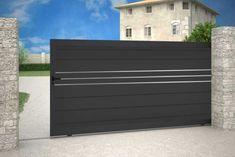 Gate Wall Design, House Main Gates Design, Steel Gate Design, Front Gate Design, Wooden Door Design, Front Gates, Entrance Gates, Oslo, Compound Gate Design