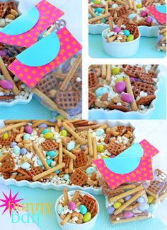 Bunny Bait and Bags!! Cute idea on { lilluna.com }