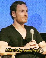 """This is crazy, this is crazy, this is crazy!"" — Michael Fassbender"