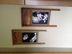 Washboard photo frames - and easy DIY!