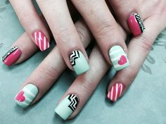 Fun Love  by Pinky - Nail Art Gallery nailartgallery.nailsmag.com by Nails Magazine www.nailsmag.com #nailart