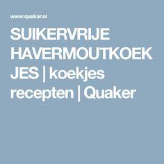SUIKERVRIJE HAVERMOUTKOEKJES   koekjes recepten   Quaker