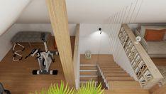 PODDASZE BOHO Interior Rendering, Interior Design, Stairs, Boho, Home Decor, Nest Design, Stairway, Decoration Home, Home Interior Design