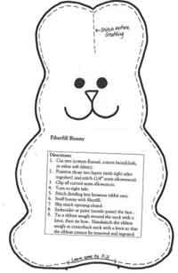 Over 50 Simple Sewing patterns for stuffed animals.