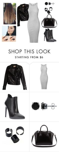 """""""Out with the squad"""" by muppets-cookie-monster ❤ liked on Polyvore featuring Zara, Yves Saint Laurent, BERRICLE and Givenchy"""