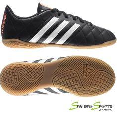 651a1dbaf Adidas Boys Football 11Questra IN Shoes Black M29260 Futsal Indoor 2015   adidas Youth Soccer Shoes
