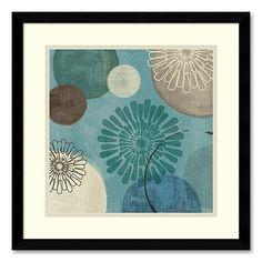 """Flora Mood II"" Framed Art Print by Veronique Charron"