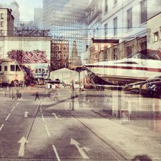 New York + London: A Collection Of Double Exposures By Daniella Zalcman