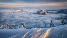 Dole síce máme teraz hmlu ale zhora to môže vyzerať aj takto úžasne   Fatranská inverzia od Tibor Rendek Photography