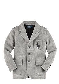 Ralph Lauren Childrenswear Knit Blazer Boys 4-7 would love to get Colton one of these.