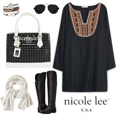 Nicole Lee Leela Tote Bag! by nicoleleeusa on Polyvore featuring MANGO, Naturalizer, Wrap and 3.1 Phillip Lim