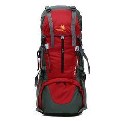 65L+5L Ultra-large Capacity Outdoors Nylon Waterproof Backpack